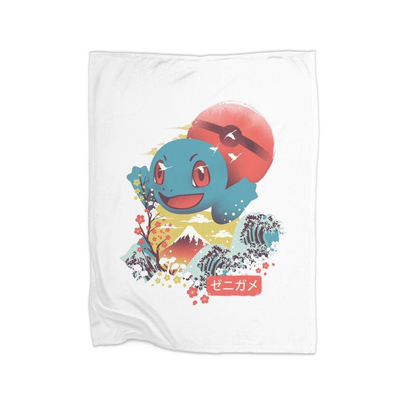Water Monster Home Fleece Blanket Blanket by dandingeroz's Artist Shop