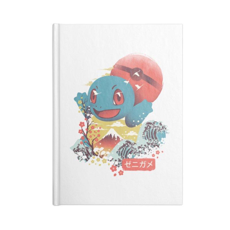 Water Monster Accessories Lined Journal Notebook by dandingeroz's Artist Shop