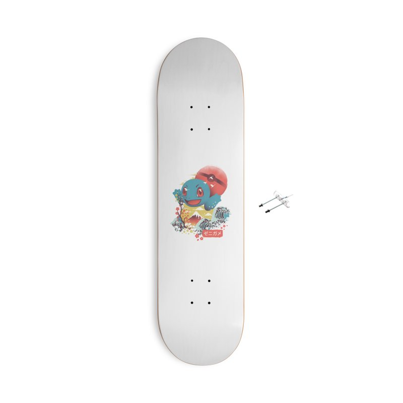 Water Monster Accessories With Hanging Hardware Skateboard by dandingeroz's Artist Shop