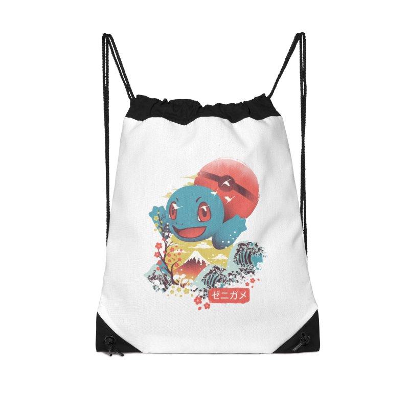 Water Monster Accessories Drawstring Bag Bag by dandingeroz's Artist Shop