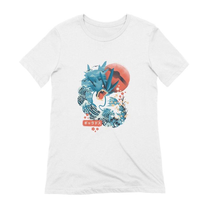 Flying Monster Women's Extra Soft T-Shirt by dandingeroz's Artist Shop
