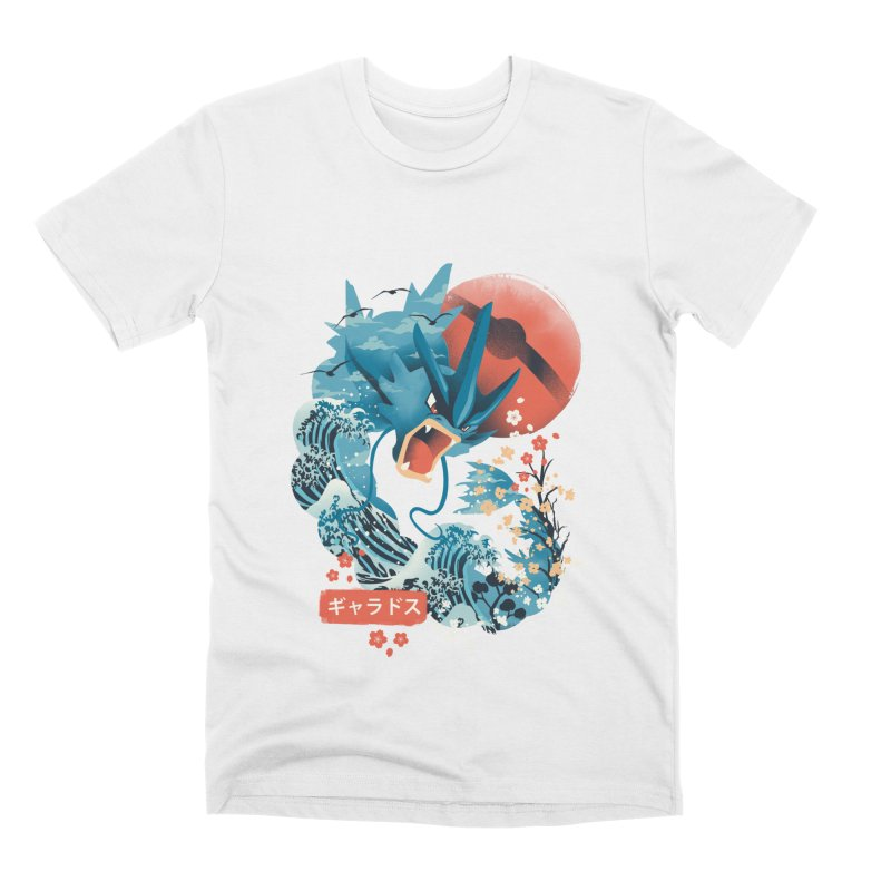 Flying Monster Men's Premium T-Shirt by dandingeroz's Artist Shop