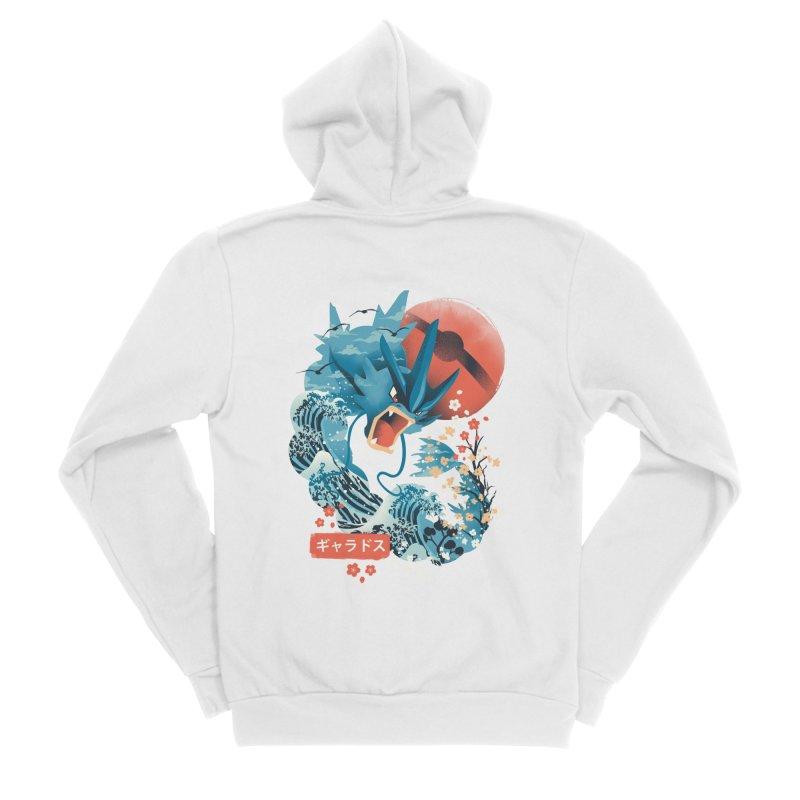 Flying Monster Women's Sponge Fleece Zip-Up Hoody by dandingeroz's Artist Shop