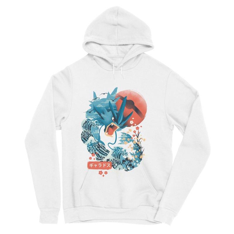 Flying Monster Men's Sponge Fleece Pullover Hoody by dandingeroz's Artist Shop