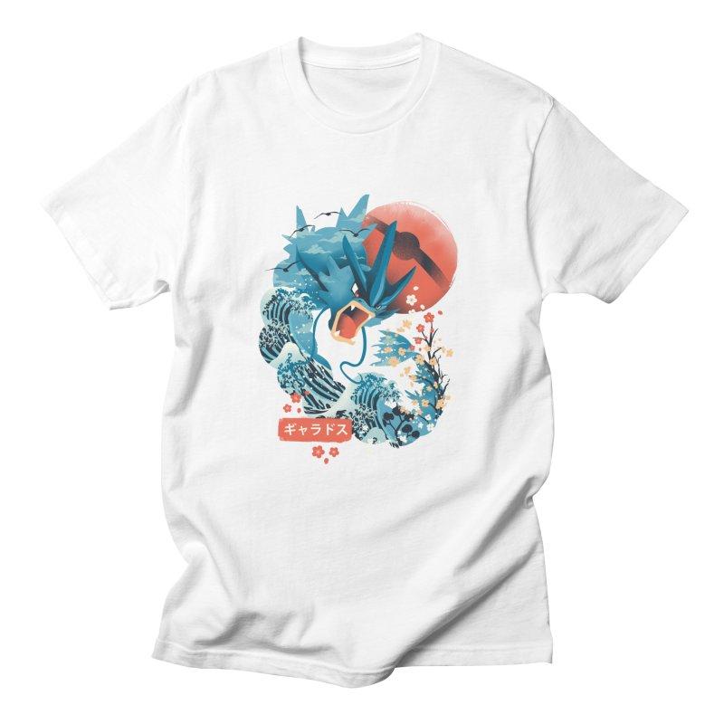 Flying Monster Men's T-Shirt by dandingeroz's Artist Shop