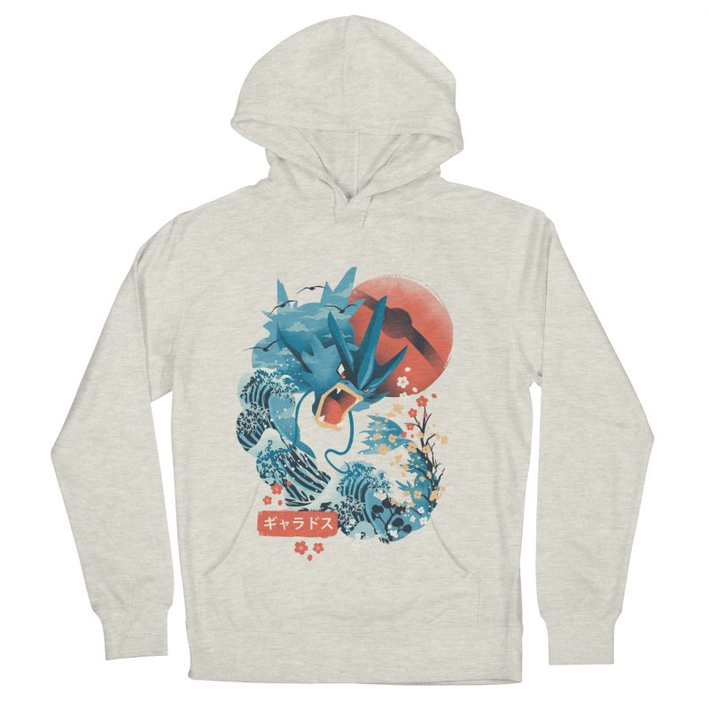 Flying Monster Men's French Terry Pullover Hoody by dandingeroz's Artist Shop
