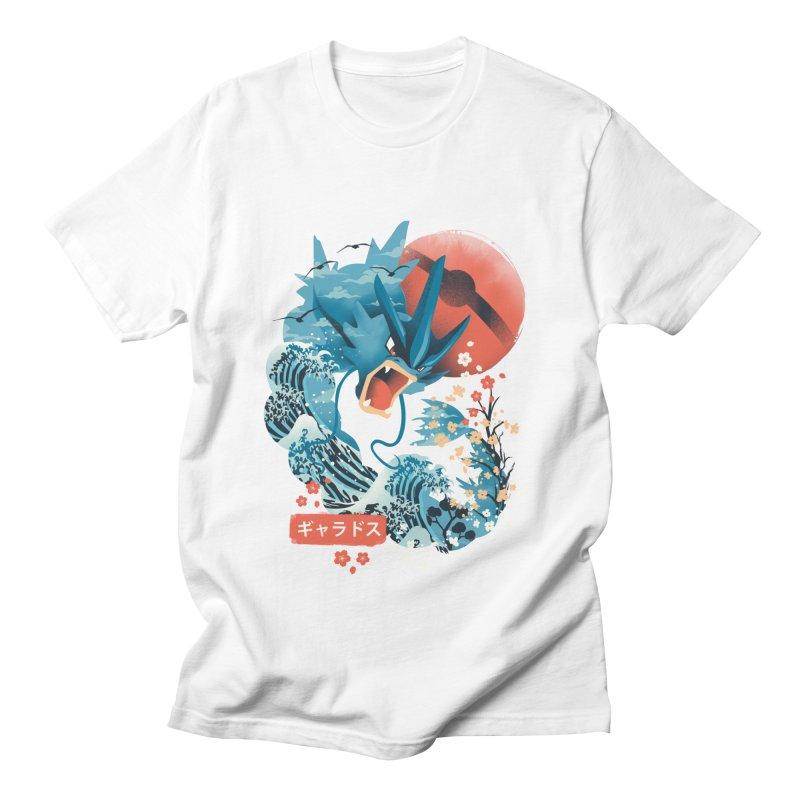 Flying Monster Men's Regular T-Shirt by dandingeroz's Artist Shop