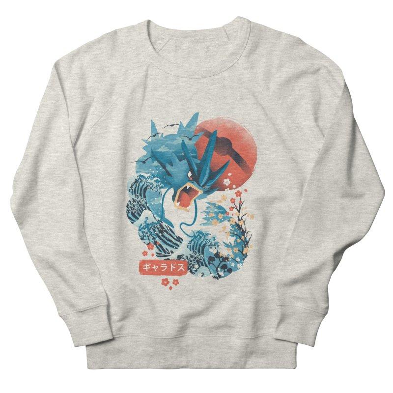 Flying Monster Men's French Terry Sweatshirt by dandingeroz's Artist Shop