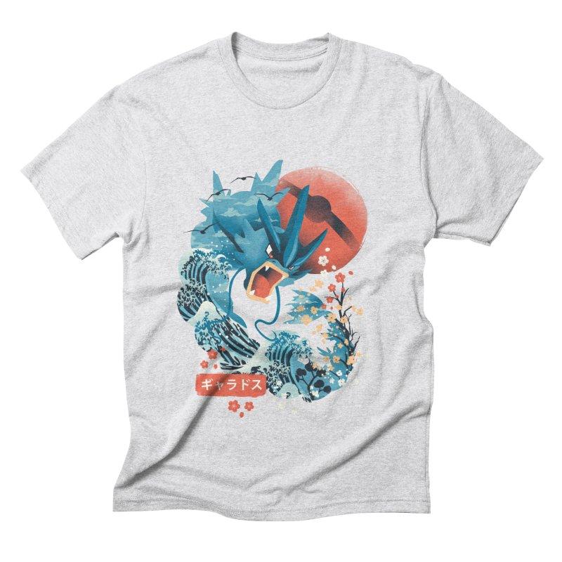 Flying Monster Men's Triblend T-Shirt by dandingeroz's Artist Shop
