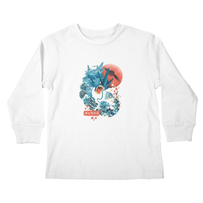 Flying Monster Kids Longsleeve T-Shirt by dandingeroz's Artist Shop