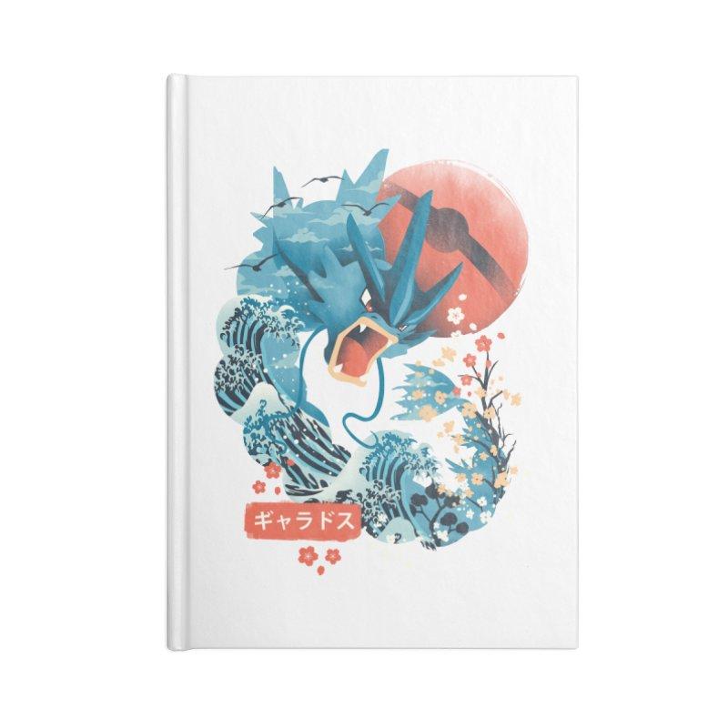 Flying Monster Accessories Lined Journal Notebook by dandingeroz's Artist Shop