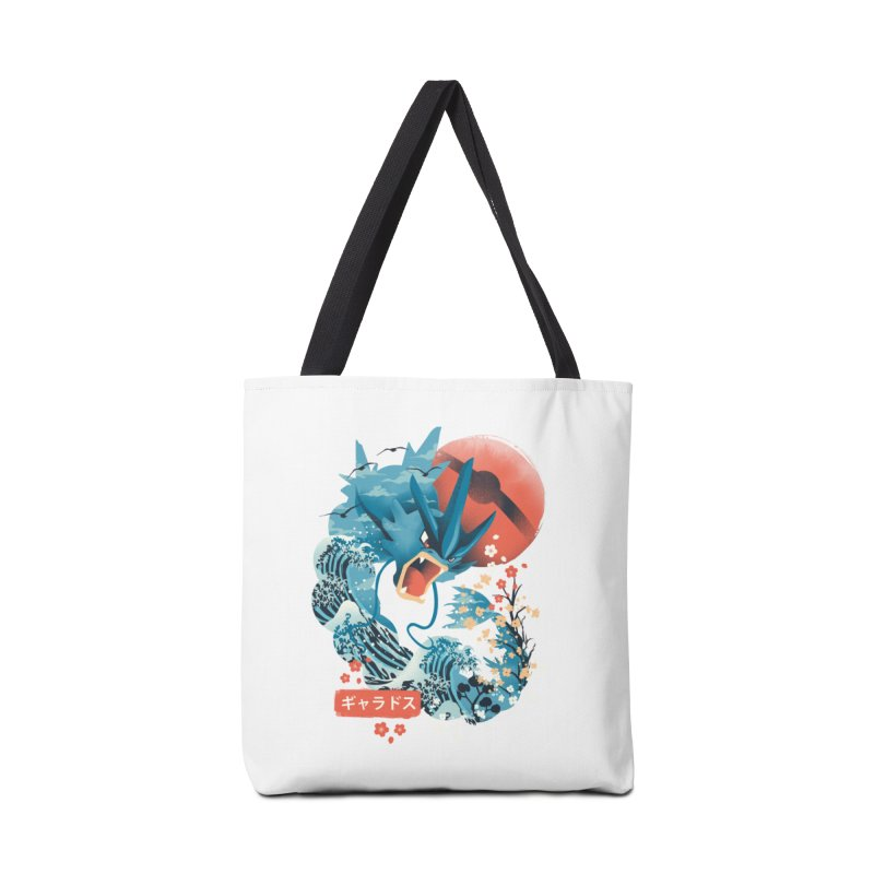 Flying Monster Accessories Tote Bag Bag by dandingeroz's Artist Shop