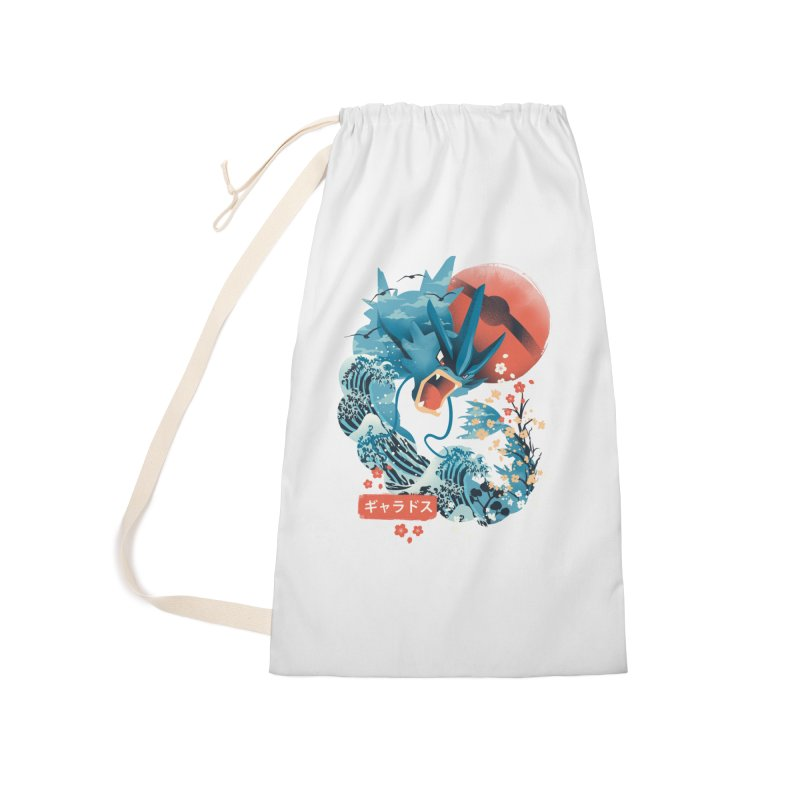 Flying Monster Accessories Laundry Bag Bag by dandingeroz's Artist Shop