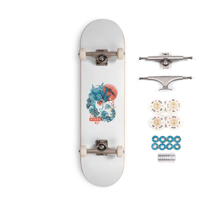 Flying Monster Accessories Complete - Premium Skateboard by dandingeroz's Artist Shop