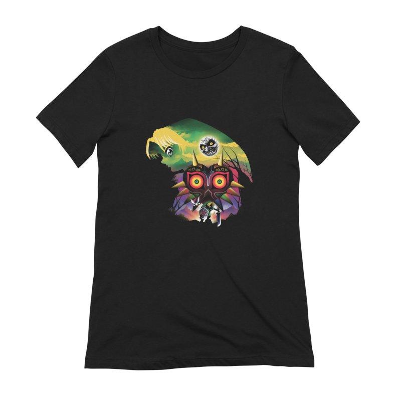 The Lost Wood Hero Women's T-Shirt by dandingeroz's Artist Shop