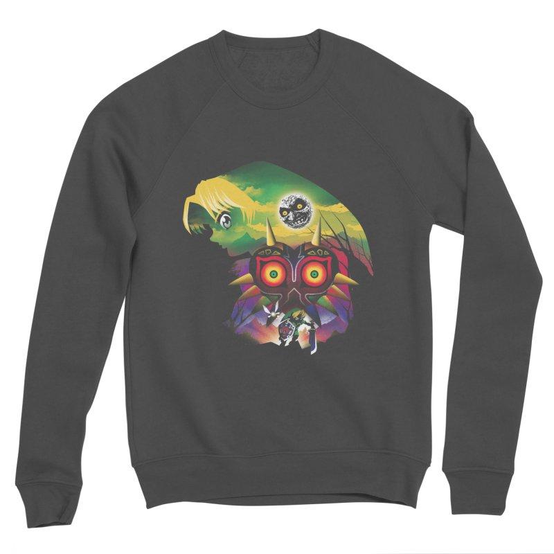 The Lost Wood Hero Women's Sponge Fleece Sweatshirt by dandingeroz's Artist Shop