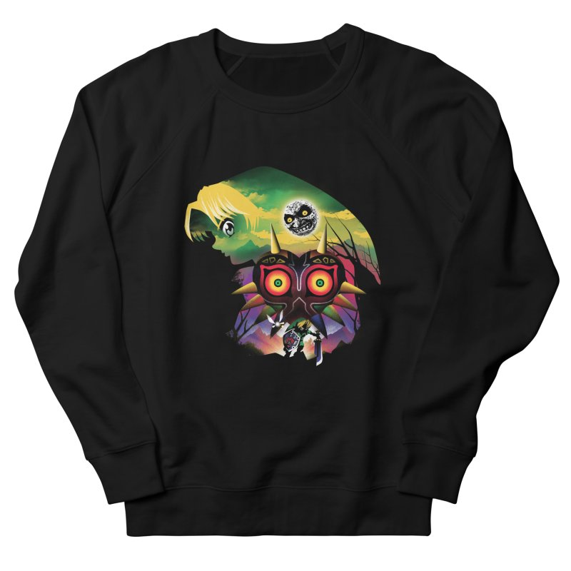 The Lost Wood Hero Women's French Terry Sweatshirt by dandingeroz's Artist Shop