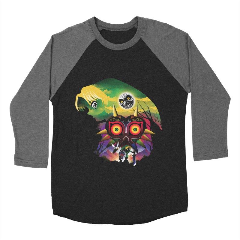 The Lost Wood Hero Women's Baseball Triblend Longsleeve T-Shirt by dandingeroz's Artist Shop