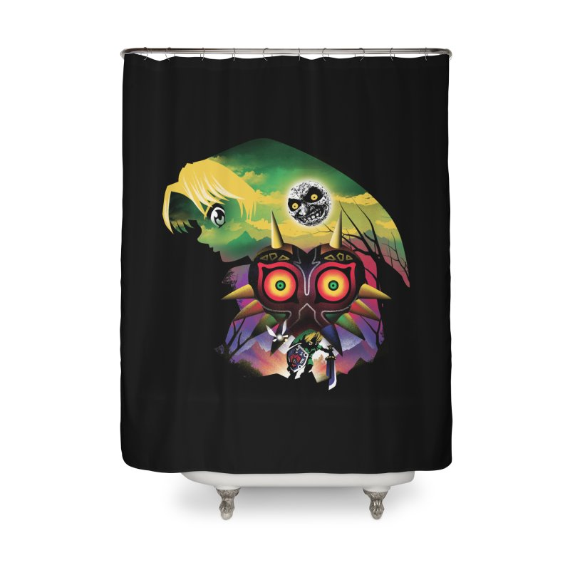 The Lost Wood Hero Home Shower Curtain by dandingeroz's Artist Shop