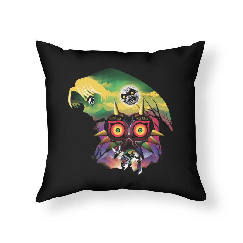 The Lost Wood Hero Home Throw Pillow by dandingeroz's Artist Shop