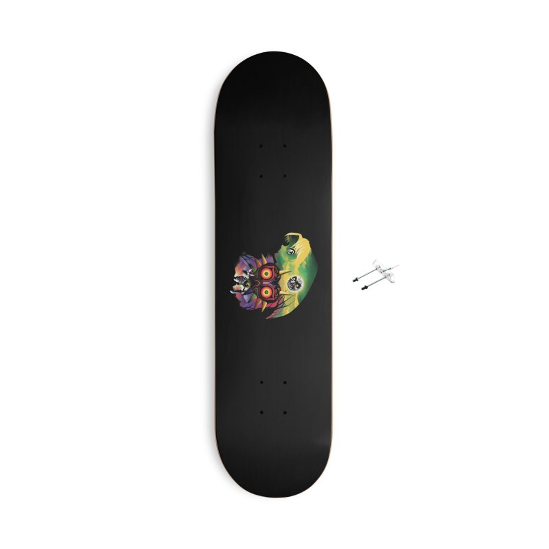 The Lost Wood Hero Accessories With Hanging Hardware Skateboard by dandingeroz's Artist Shop