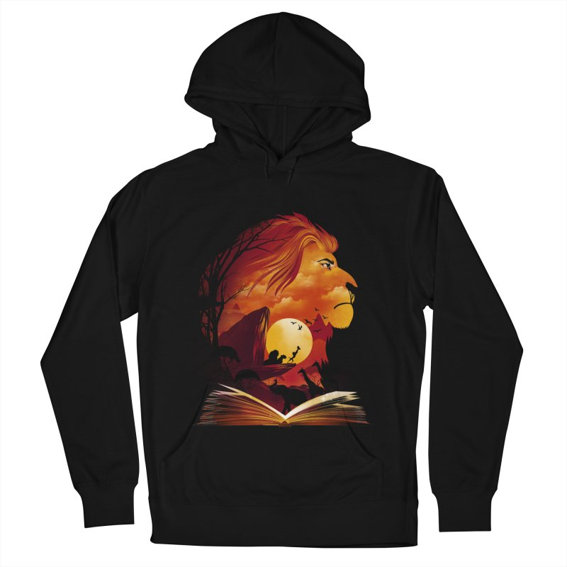 Book of Pride Rock Men's French Terry Pullover Hoody by dandingeroz's Artist Shop