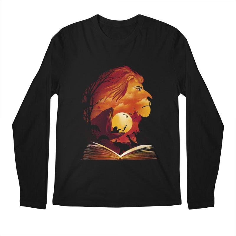 Book of Pride Rock Men's Regular Longsleeve T-Shirt by dandingeroz's Artist Shop