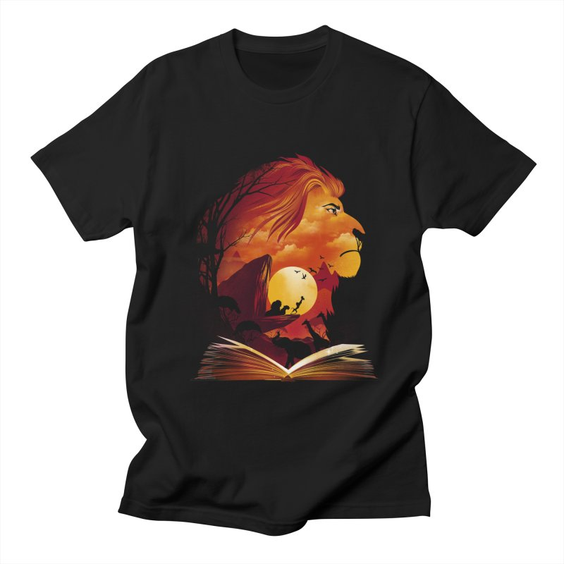 Book of Pride Rock Women's Regular Unisex T-Shirt by dandingeroz's Artist Shop