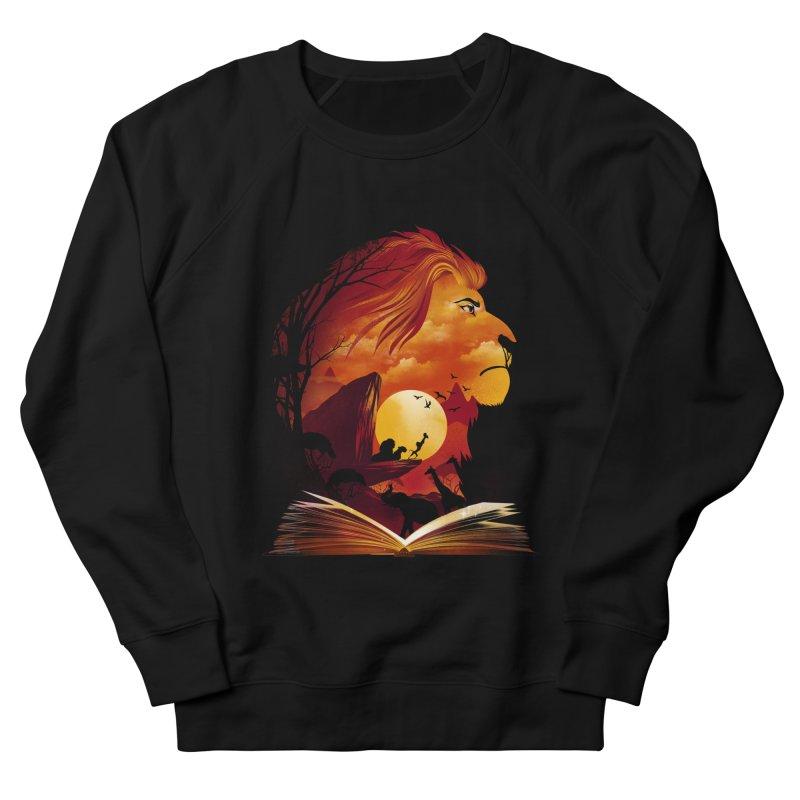 Book of Pride Rock Men's French Terry Sweatshirt by dandingeroz's Artist Shop
