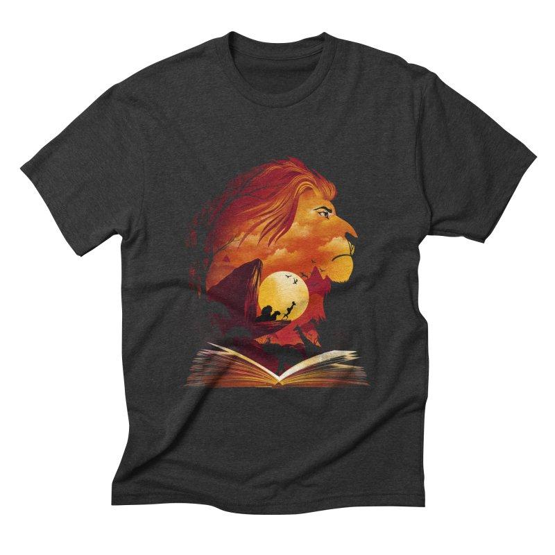 Book of Pride Rock Men's Triblend T-Shirt by dandingeroz's Artist Shop