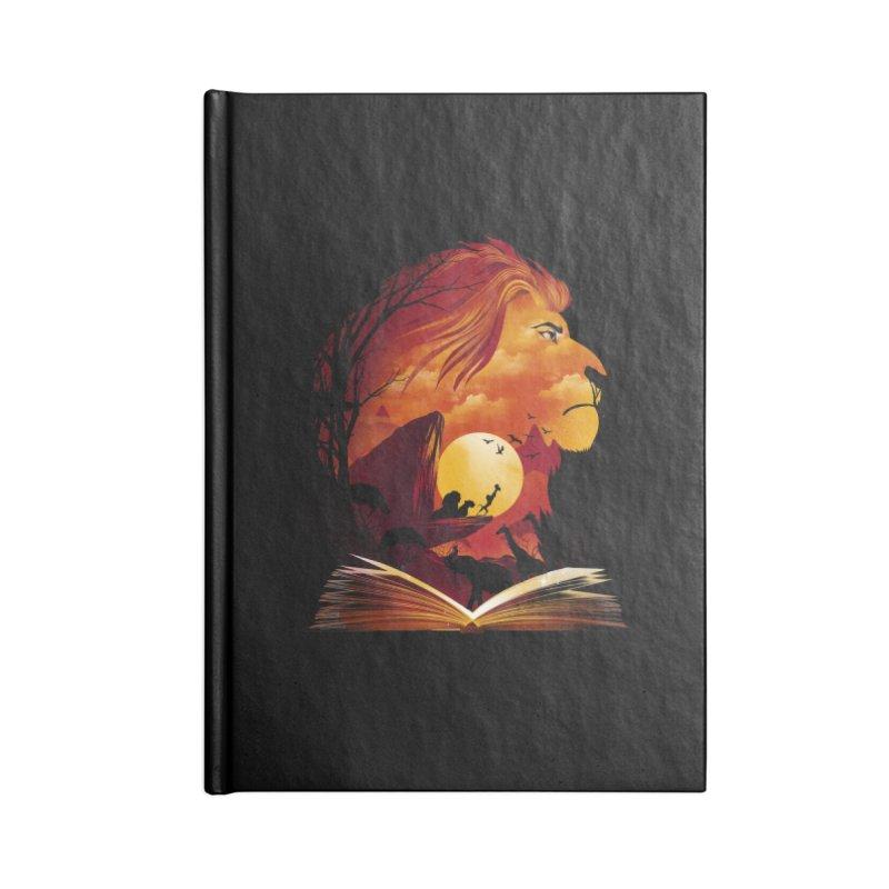 Book of Pride Rock Accessories Lined Journal Notebook by dandingeroz's Artist Shop