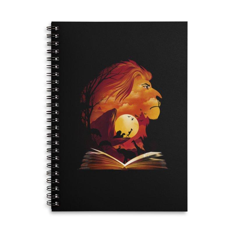 Book of Pride Rock Accessories Lined Spiral Notebook by dandingeroz's Artist Shop