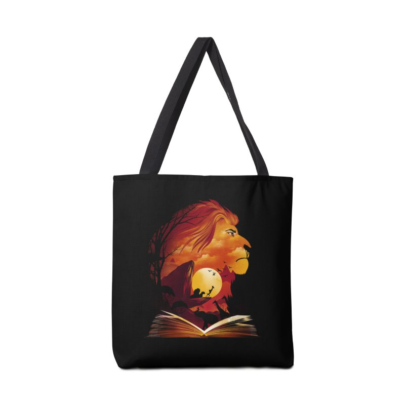 Book of Pride Rock Accessories Tote Bag Bag by dandingeroz's Artist Shop