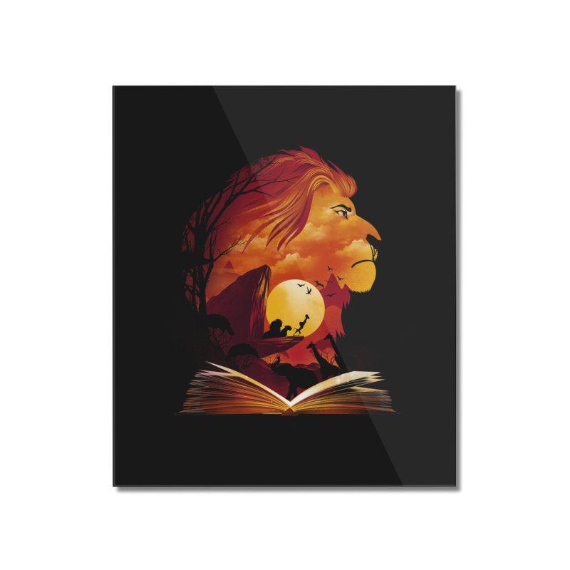 Book of Pride Rock Home Mounted Acrylic Print by dandingeroz's Artist Shop