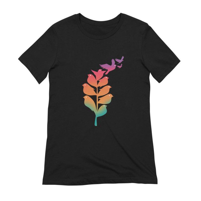 Flying High Women's Extra Soft T-Shirt by dandingeroz's Artist Shop