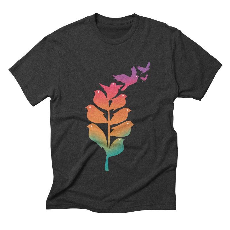 Flying High Men's Triblend T-Shirt by dandingeroz's Artist Shop