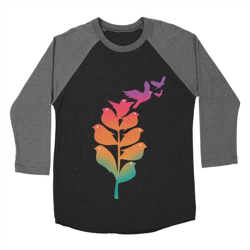 Flying High Men's Baseball Triblend Longsleeve T-Shirt by dandingeroz's Artist Shop