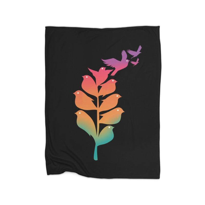 Flying High Home Fleece Blanket Blanket by dandingeroz's Artist Shop