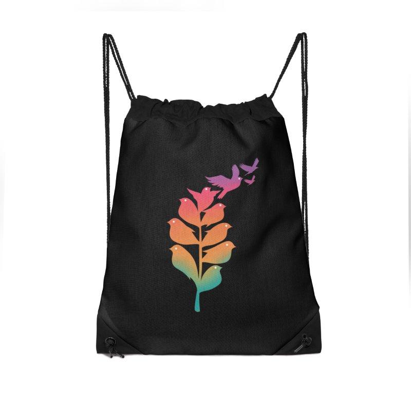Flying High Accessories Drawstring Bag Bag by dandingeroz's Artist Shop