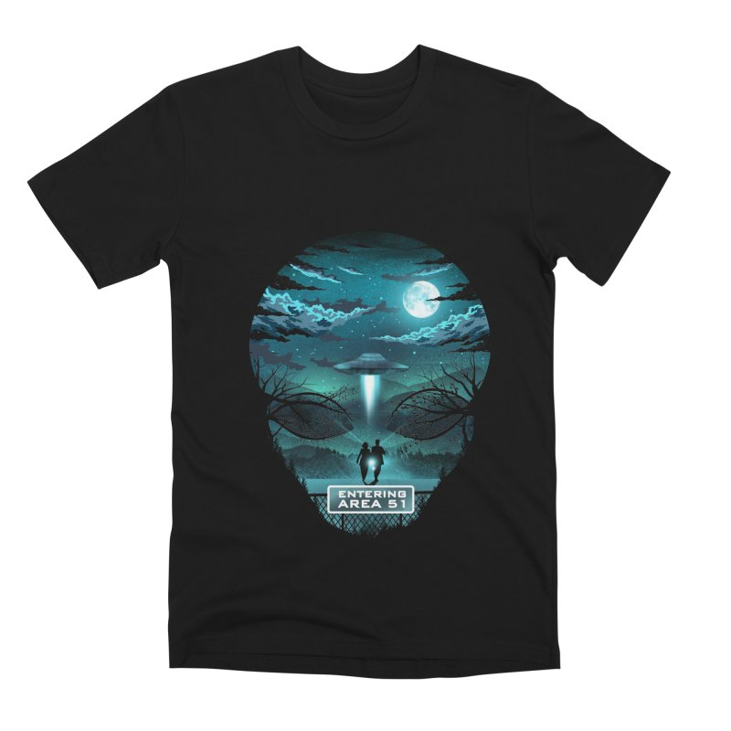 Welcome to Area51 Men's Premium T-Shirt by dandingeroz's Artist Shop