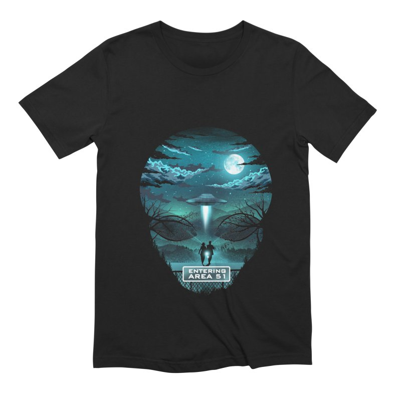 Welcome to Area51 Men's Extra Soft T-Shirt by dandingeroz's Artist Shop