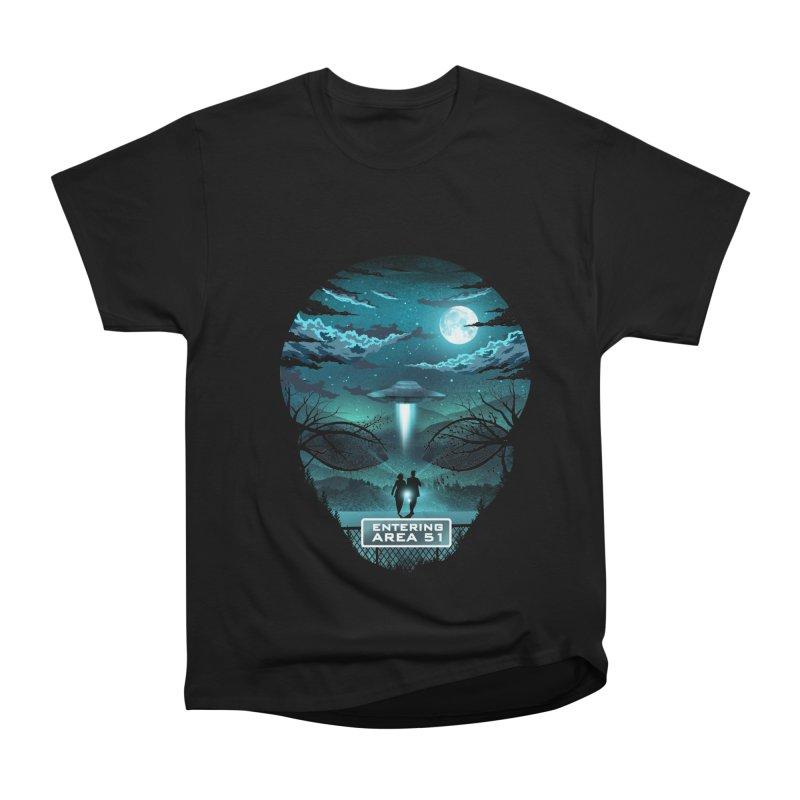 Welcome to Area51 Men's Heavyweight T-Shirt by dandingeroz's Artist Shop