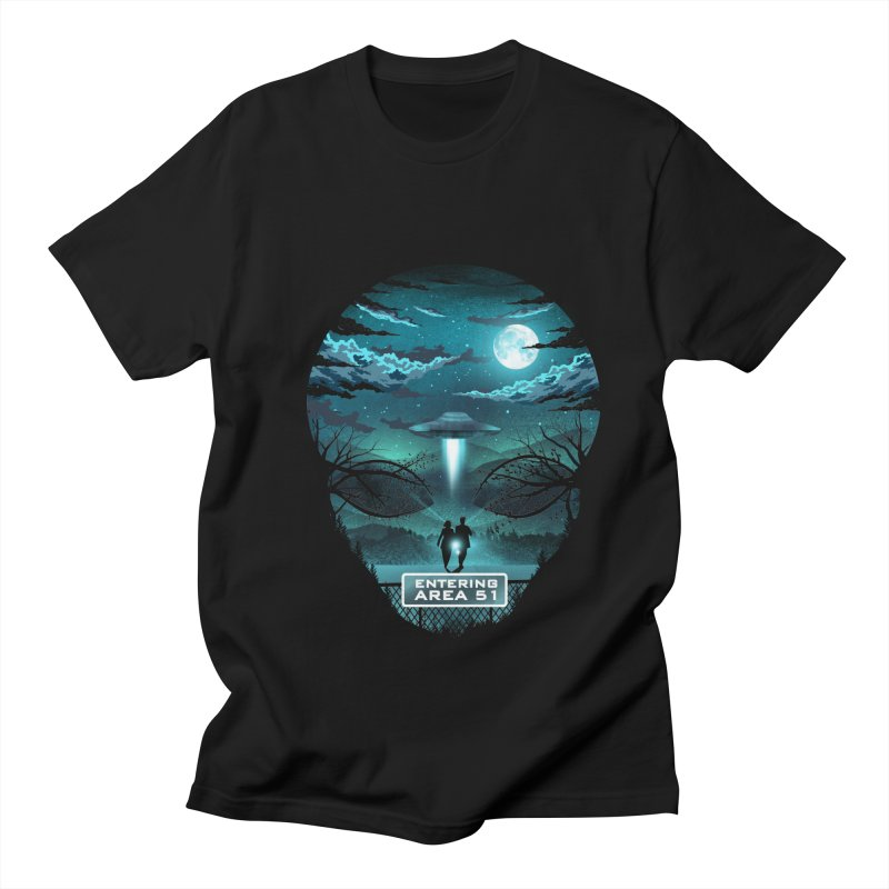 Welcome to Area51 Men's Regular T-Shirt by dandingeroz's Artist Shop