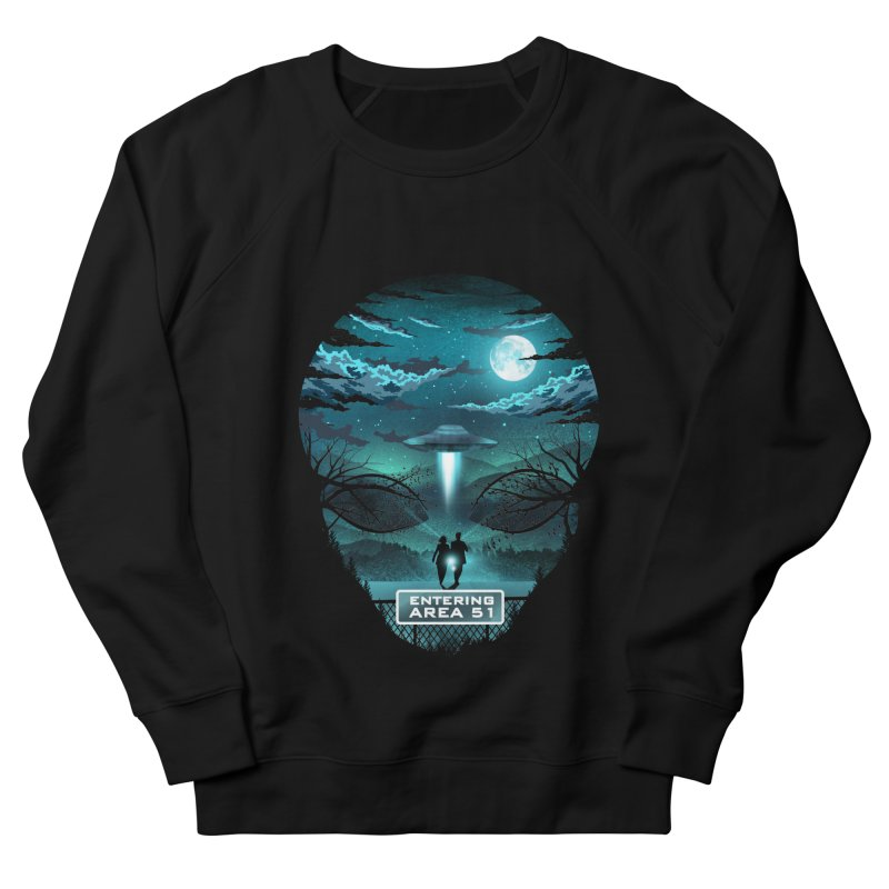 Welcome to Area51 Women's French Terry Sweatshirt by dandingeroz's Artist Shop