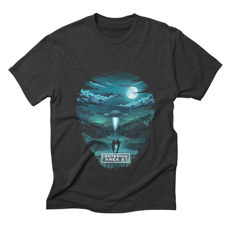 Welcome to Area51 Men's Triblend T-Shirt by dandingeroz's Artist Shop