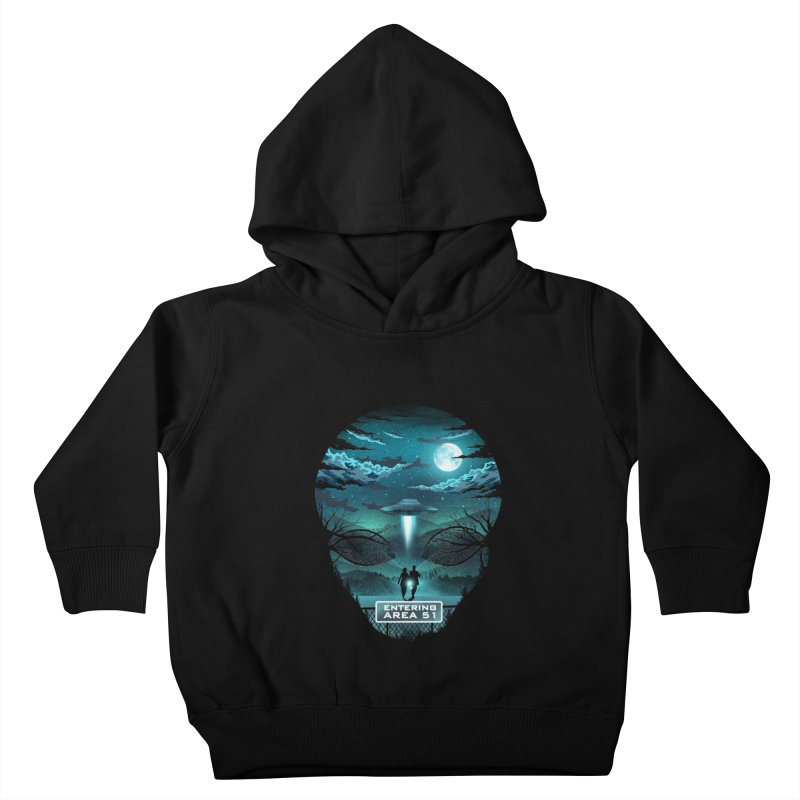 Welcome to Area51 Kids Toddler Pullover Hoody by dandingeroz's Artist Shop