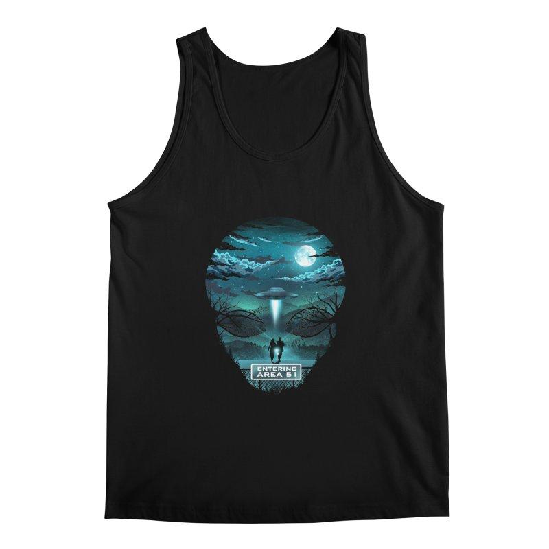 Welcome to Area51 Men's Regular Tank by dandingeroz's Artist Shop