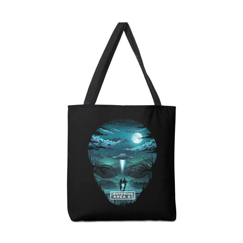 Welcome to Area51 Accessories Tote Bag Bag by dandingeroz's Artist Shop