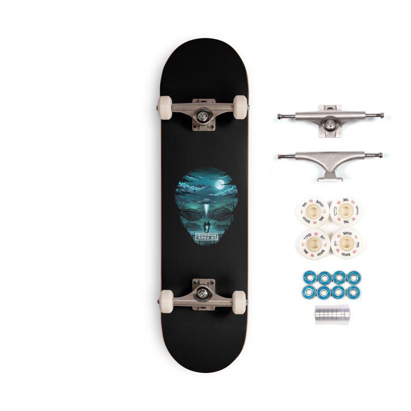 Welcome to Area51 Accessories Complete - Premium Skateboard by dandingeroz's Artist Shop