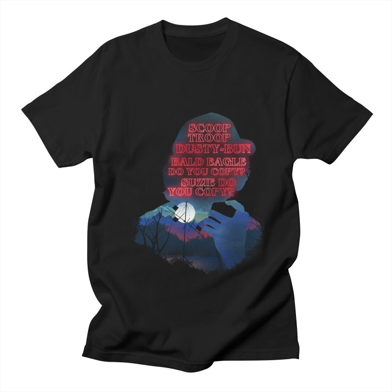 Scoops Trrop Dusty-bun Men's Regular T-Shirt by dandingeroz's Artist Shop